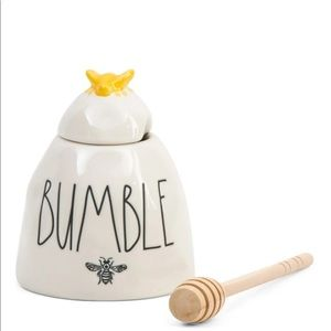 Rae Dunn BUMBLE honey pot